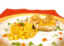 Chicken Breast Fillet Royalty Free Stock Photos
