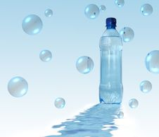 Free Bottled Water Royalty Free Stock Image - 4861156
