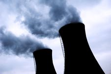 Free Chimneys Of Power Station Stock Photo - 4861540