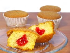 Free Sweet Cakes On The Table Stock Image - 4861791