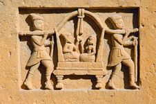 Free India, Rajasthan, Jaisalmer: Small Statue Stock Images - 4861984