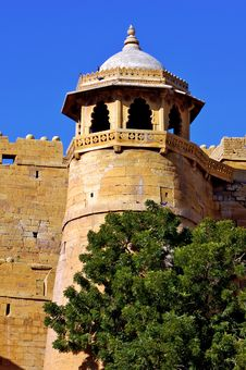 Free India, Rajasthan, Jaisalmer: Fort Stock Photography - 4862212
