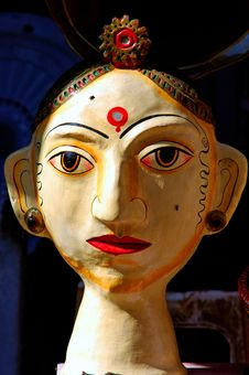 India, Rajasthan, Jaisalmer: Marionette Royalty Free Stock Images