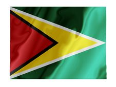 Free Guyana Fluttering Stock Images - 4862524