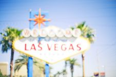 Free Vegas Sign Royalty Free Stock Photos - 4862828