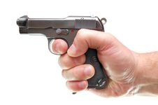 Free Hand With Gun Stock Images - 4863334