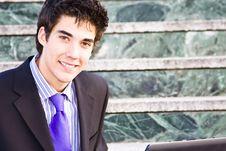 Free Young Businessman Portrait Stock Image - 4863371