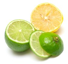 Free Lemon And Lime Royalty Free Stock Photography - 4863867