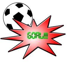 Free Goal Royalty Free Stock Photos - 4863878