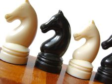 Free Chess Figures 2 Royalty Free Stock Photo - 4863885