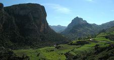 Free Mountain Pass Royalty Free Stock Photo - 4864315