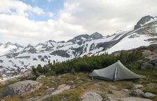 Free Camping, Sierra Nevada Stock Photography - 4864642
