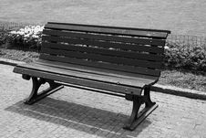 Free Bench In A Park Stock Images - 4864864