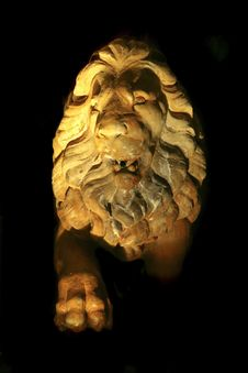 Free Lion Statue Stock Image - 4864971