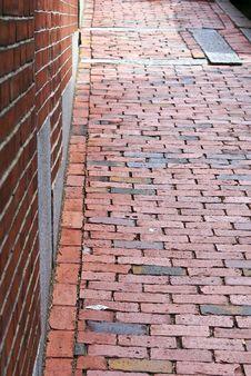 Brick And Brick Royalty Free Stock Image