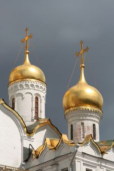 Free Russian Church Royalty Free Stock Image - 4865106
