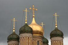 Free Russian Church Royalty Free Stock Photo - 4865115