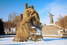 Free Monument To Russian Soldiers Stock Images - 4865264