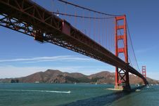 Free Golden Gate 2. Royalty Free Stock Photography - 4865277