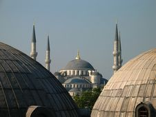 Free Blue Mosque Stock Photography - 4865522
