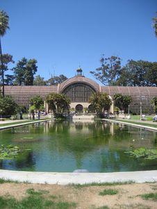 Free ABalboa Park Atrium Royalty Free Stock Images - 4865989
