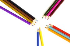 Free Color Pencils Royalty Free Stock Images - 4866029