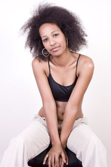Free Young African Beauty Stock Photos - 4866033