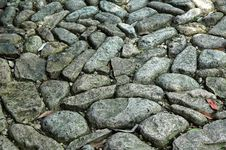 Free Pebbles Way Royalty Free Stock Photos - 4866118