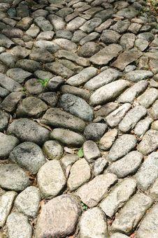 Free Pebbles Way Stock Photo - 4866120