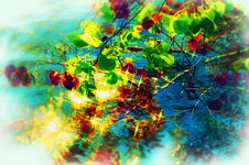 Free Abstract Multicolor Figure. Stock Photo - 4866270