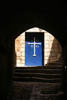 Free Greek Orthodox Monastery In Old Jaffa, Israel Stock Photography - 4866652