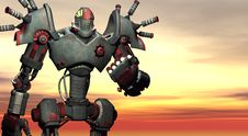 Free Battle Robot Stock Image - 4866941
