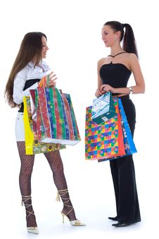 Free Business Lady Shopping Royalty Free Stock Image - 4866946