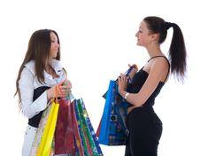 Free Business Lady Shopping Stock Photo - 4866950