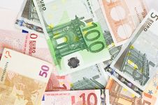 Free Euro Banknotes Royalty Free Stock Image - 4867086