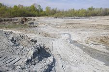 Free Huge Opencast Mine Royalty Free Stock Photography - 4867307