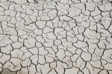 Free Cracks In Dried Mud Royalty Free Stock Photography - 4867337