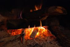 Free Fireplace Stock Image - 4867571