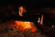 Free Fireplace Royalty Free Stock Photos - 4867578