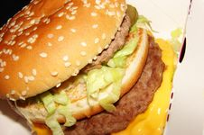 Free Burger Royalty Free Stock Image - 4867696
