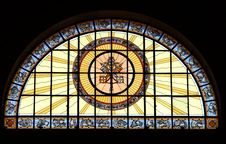 Free Stained Glass Window Royalty Free Stock Photo - 4868075