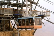 Free Cable Car In Masada National Park Royalty Free Stock Photos - 4868238