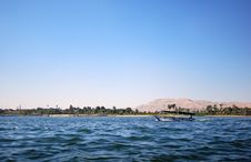 Free Boat On The Nile Stock Image - 4868281