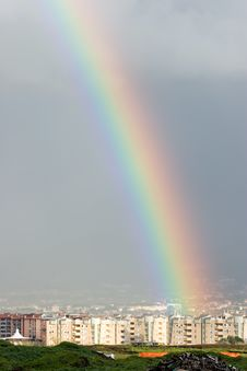 Free Rainbow In The House Stock Photo - 4868610