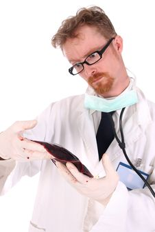 Free Doctor Research Meat Stock Photography - 4868842