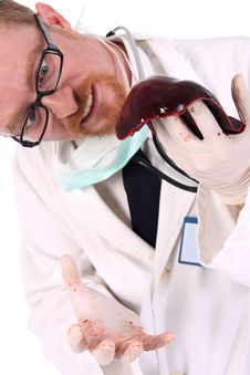 Free Doctor Research Meat Stock Photo - 4868890