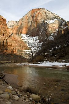 Free Zion National Park Stock Photography - 4869002