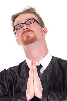 Free Man Praying Stock Photos - 4869143