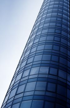 Free Blue Glass Tower Stock Photo - 4869290