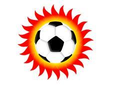 Free Football Sun Stock Image - 4869361